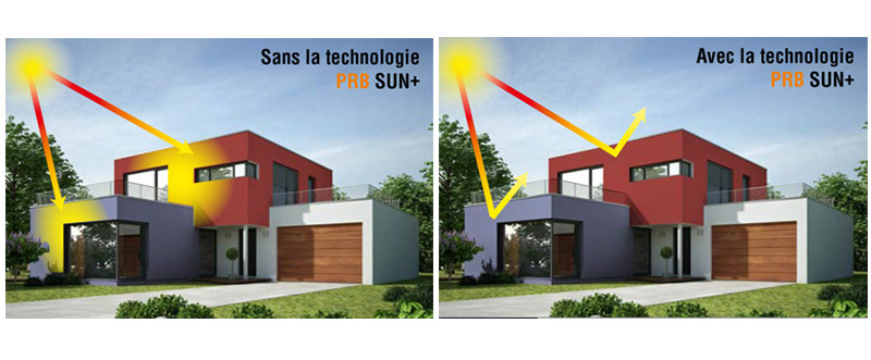 Sun+ de PRB pour appliquer des teintes sombres et soutenues en façade !